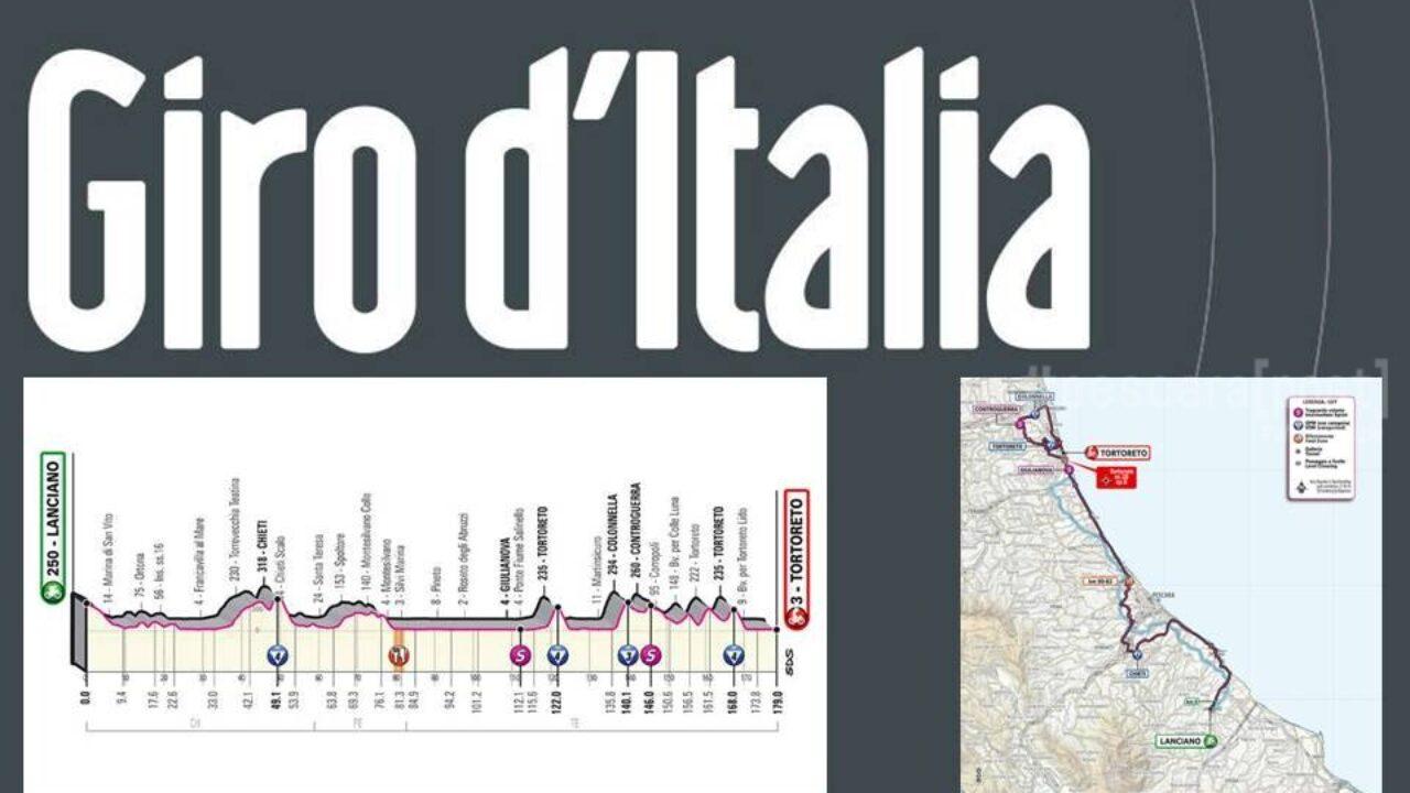 Cartina Geografica Roccaraso.Giro D Italia 2020 Abruzzo Tappa 10 Lanciano Tortoreto Percorso E Dettagli Mappa Pescarapost