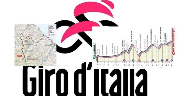 Cartina Geografica Roccaraso.Giro D Italia 2020 Abruzzo Tappa 9 San Salvo Roccaraso Percorso E Dettagli Mappa Pescarapost